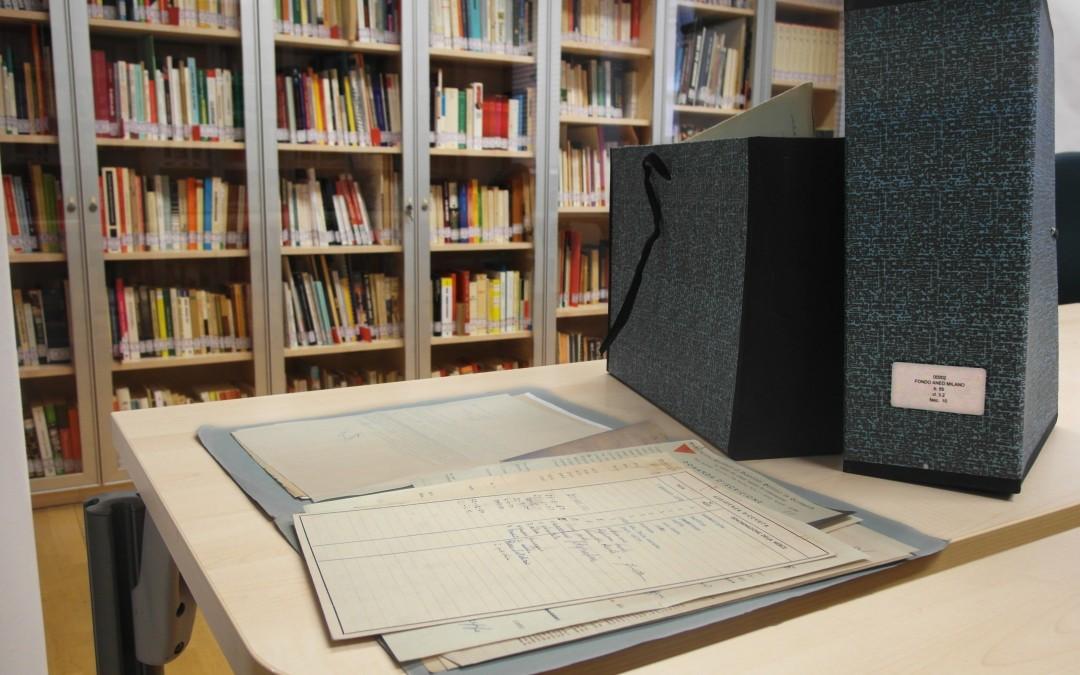 Nuovi inventari archivistici