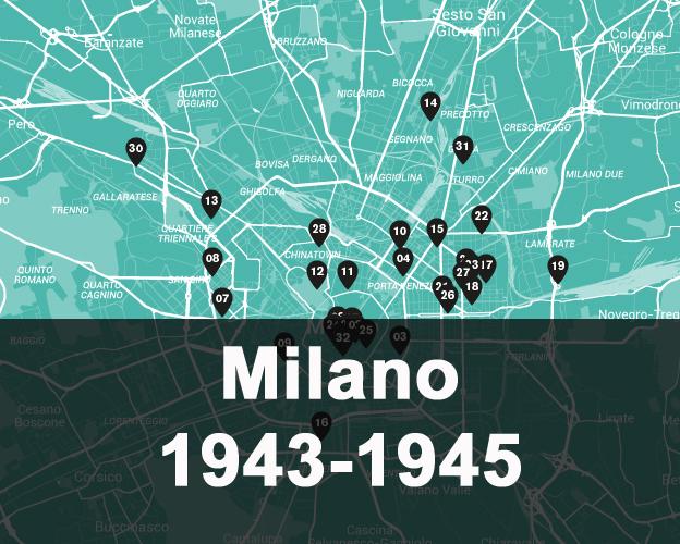 Milano e la memoria degli anni del fascismo e dell'occupazione tedesca