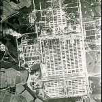 Veduta aerea di Auschwitz