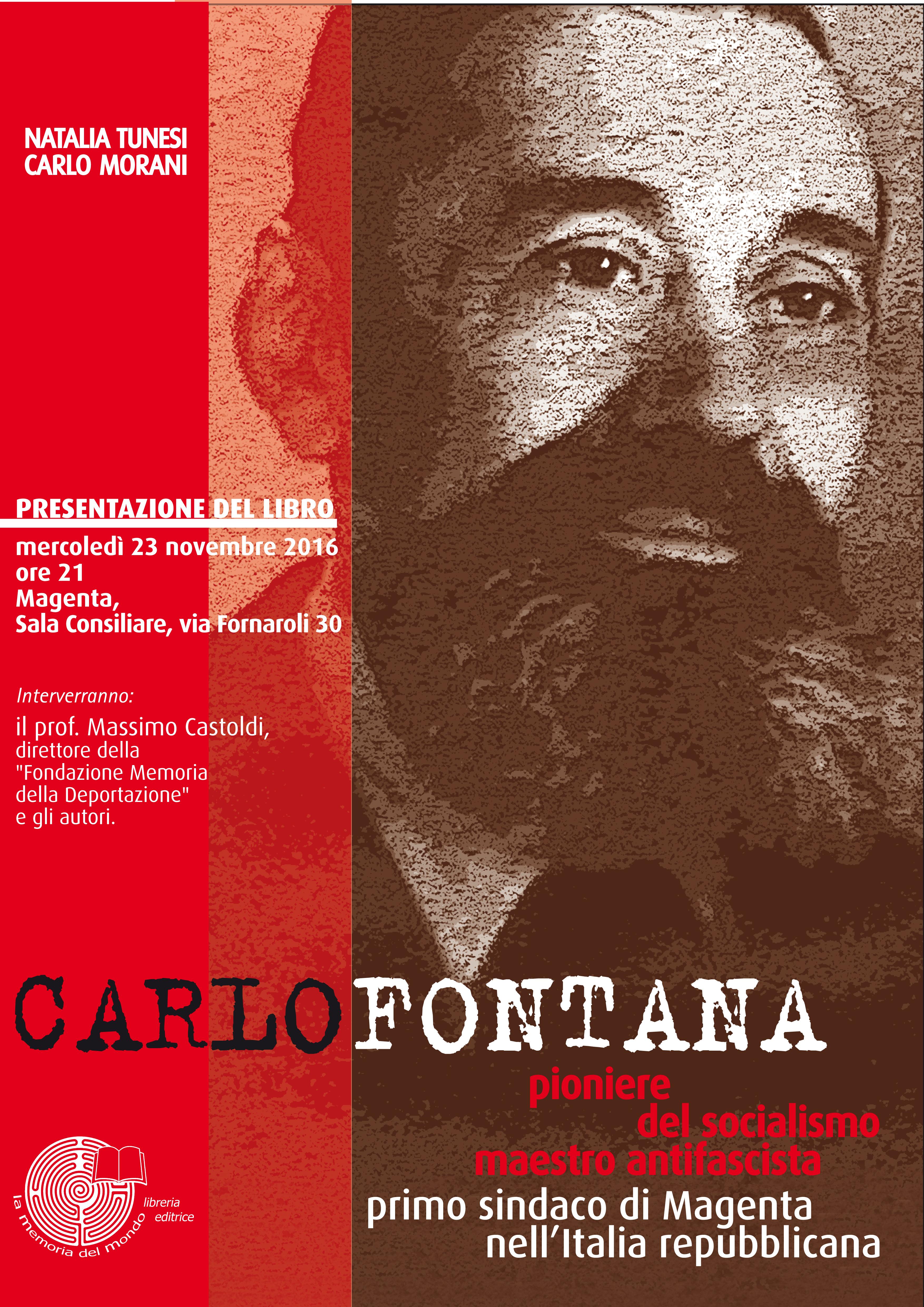 A Magenta Massimo Castoldi  ricorda i socialisti Carlo Fontana e Brenno Cavallari