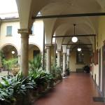Bologna Laura Bassi cortile