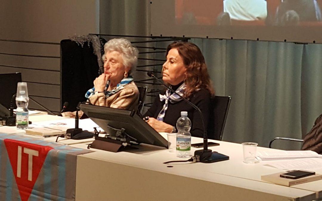 Savona. Discorso di Floriana Maris per l'anniversario dello sciopero del primo marzo 1944