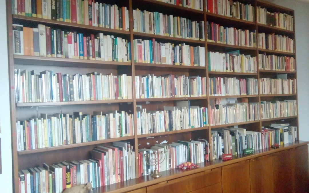 Dono di una biblioteca di 4000 volumi alla Fondazione