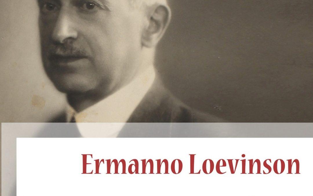 A Bologna Antonella Salomoni presenta il volume Ermanno Loevinson. Un archivista vittima della Shoah