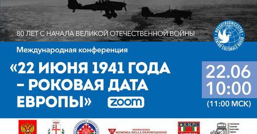 A 80 anni dall'attacco nazista all'Unione sovietica