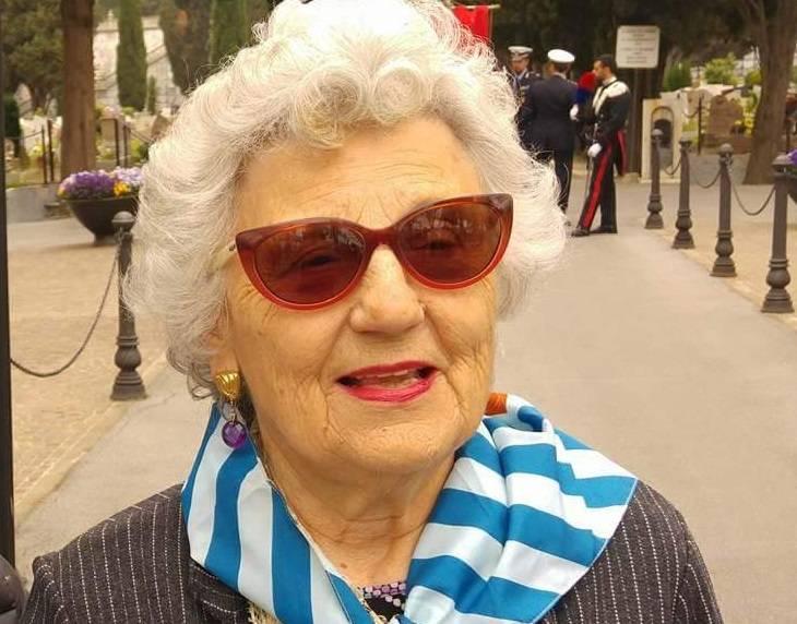 Per la scomparsa di Maria Bolla Cesarini presidente dell' Aned di Savona e Imperia